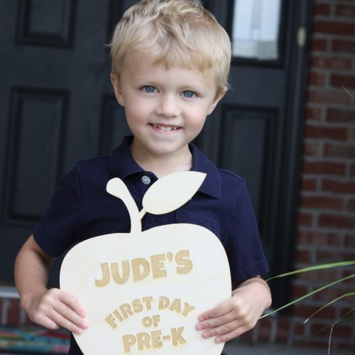 Back to School - Jude's in Pre-K! | Ellie And Addie