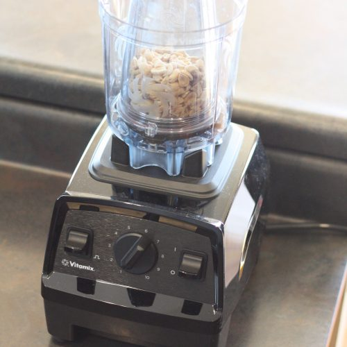 Homemade Peanut Butter with Vitamix | How to quickly and easily make homemade peanut butter with your Vitamix | A recipe from St. Louis Family and Lifestyle Blogger Liz from Ellie And Addie