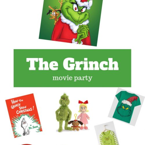 The Grinch Movie Party