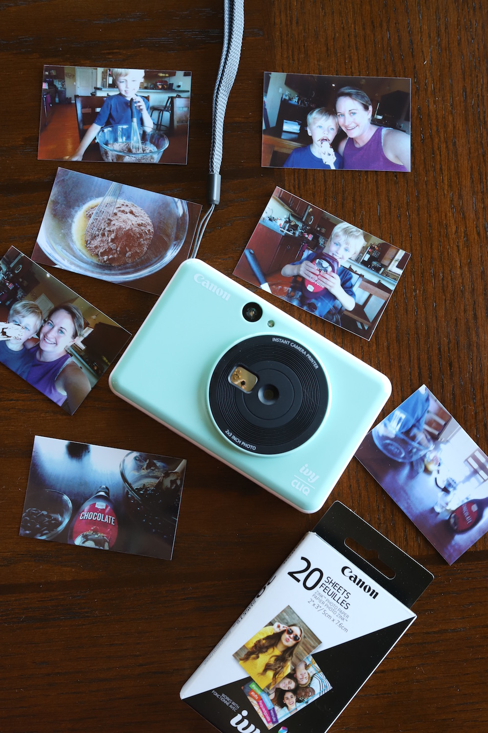 Instant Print Pictures with the Canon IVY CLIQ Camera - a review from Liz of lizrotz.com