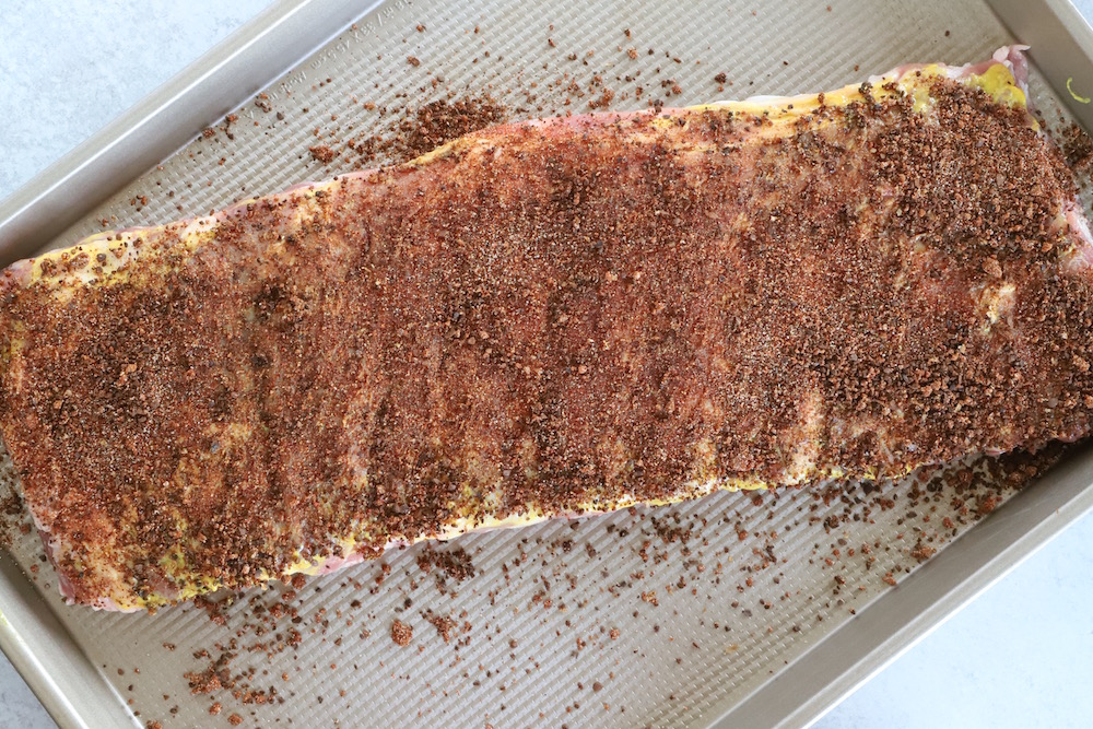 Coffee Rubbed Ribs Recipe - A homemade coffee rub recipe perfect for using on ribs
