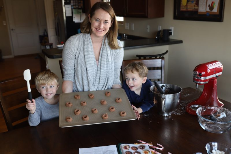 Chocolate Thumbprint Cookie Recipe
