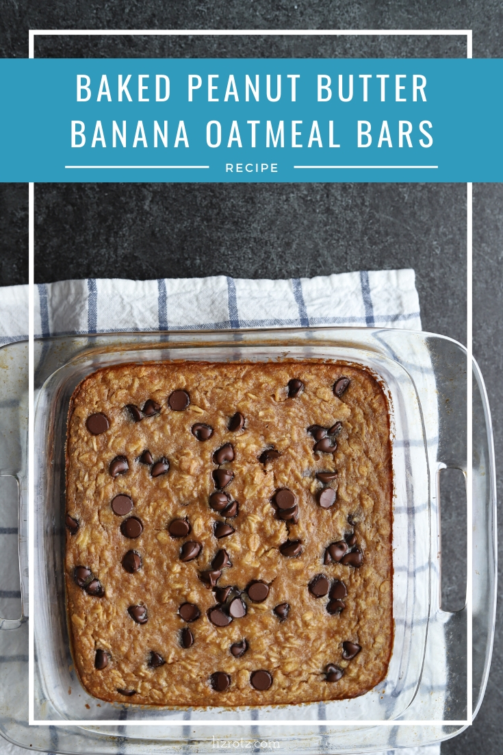 Banana Oatmeal Bars Recipe - an easy oatmeal recipe you can make with things in your pantry!