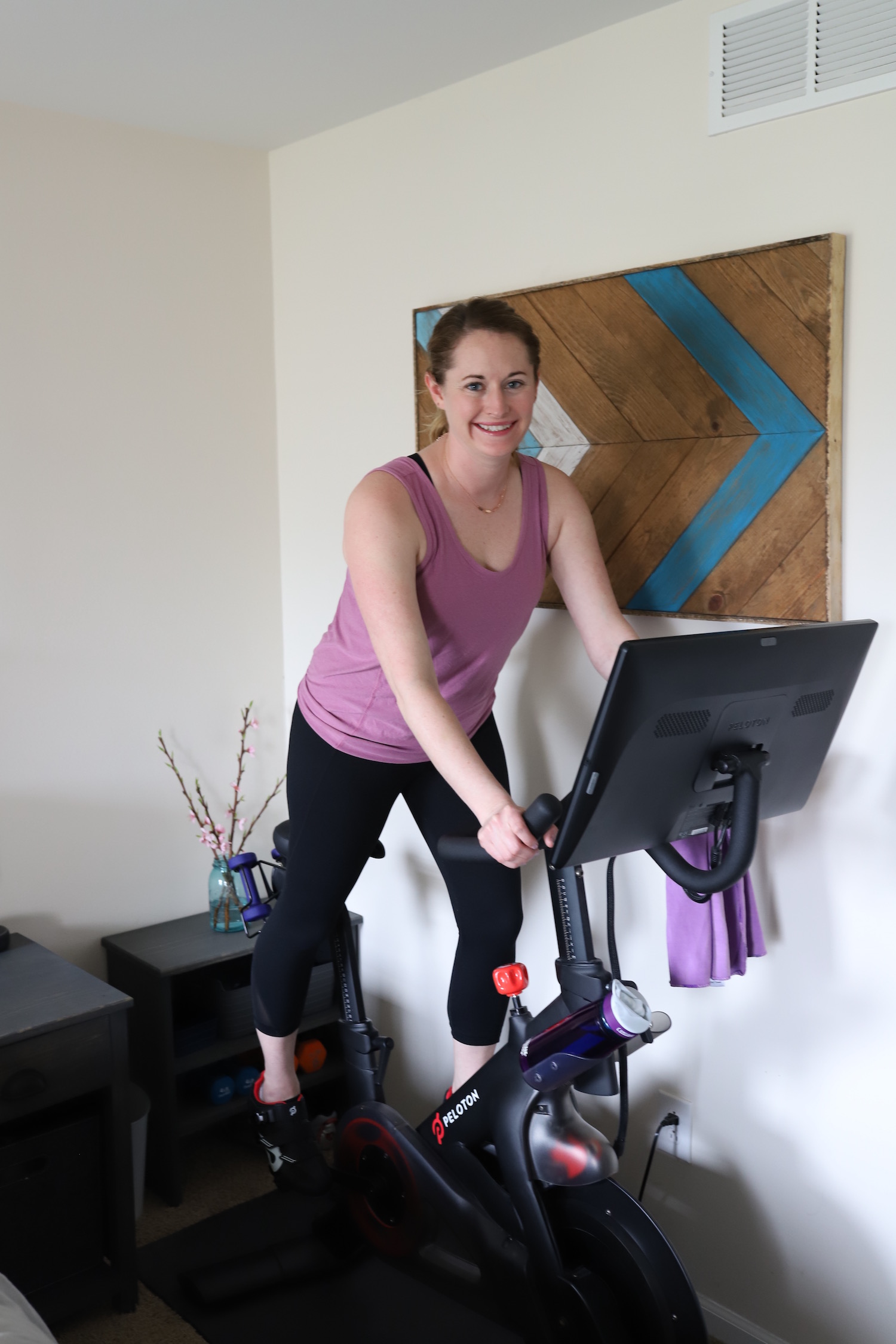 Peloton Bike Review - Is a Peloton worth it? What if I've never taken a spin class before? Read my completely unbiased opinion after having my Peloton Bike for over a year!