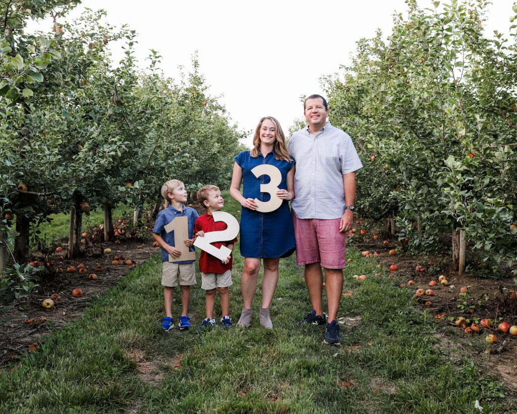 SURPRISE! Baby Rotz #3 is on the way!