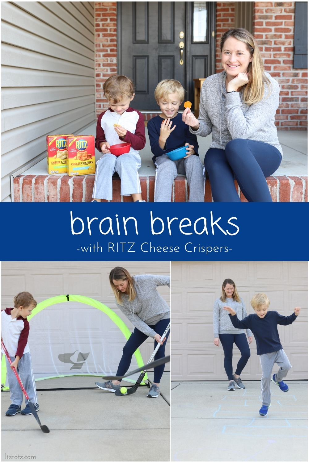 #ad Take a brain break from learning with the new RITZ Cheese Crispers! Check out our fun ideas to break up learning and use our imaginations! #cRITZpy