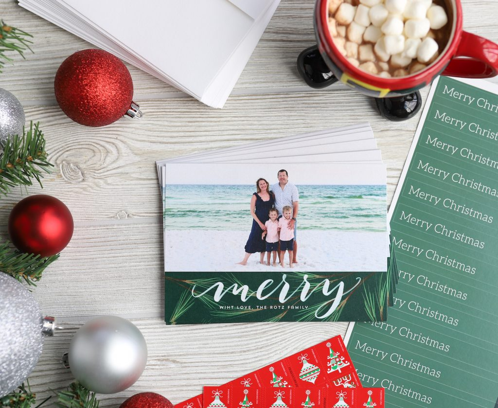 Our Family Christmas Cards 2020 - Get the best holiday photo cards from MPix!