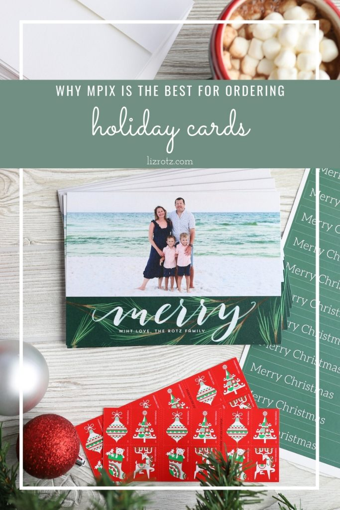 Our Family Christmas Cards 2020 - Get the best holiday photo cards from MPix with the fastest turnaround time!